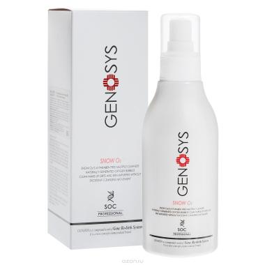 GENOSYS Кислородный очиститель для лица Snow O2 Cleanser (SOC) 180 мл