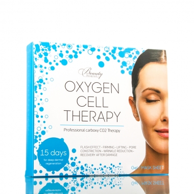 Beautypharma Oxygen Cell Therapy маска для лица и шеи (5 шприцов + 5 масок)