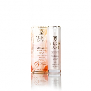Yellow Rose CELLULAR REVITALIZING SERUM with fruit stem cells and extracts Сыворотка с экстрактами фруктов (30 мл)