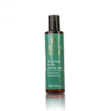 YELLOW ROSE Olive & Herbs Micellar Cleansing Water Вода очищающая мицеллярная с листьями оливы и растительными экстрактами (200 мл)