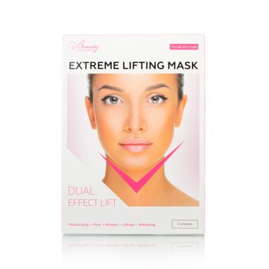 Beautypharma Extreme Lifting Mask лифтинг-маска для лица и подбородка (5 шт)