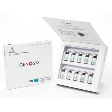 Genosys CTS Power Solution KIT Сыворотка для ремоделирования тканей и заживления ран, 10Х2 мл