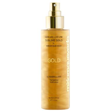 Miriam Quevedo Золотой спрей-лосьон для ультра блеска волос, 150 мл