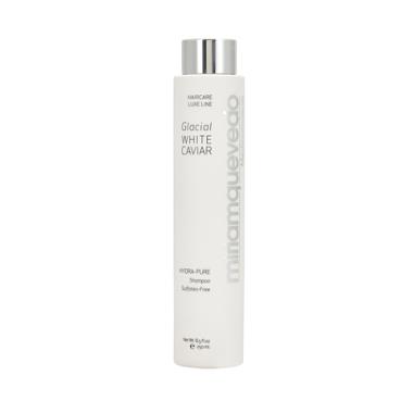 Miriam Quevedo Glacial White Caviar Hydra-Pure Shampoo - Увлажняющий шампунь с экстрактом прозрачно-белой икры, 250 мл