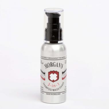 Morgans 3 в 1 шампунь, гель для душа, средство для бритья, 100 мл