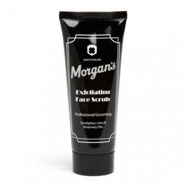 Morgans очищающий скраб для лица, 100 мл