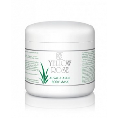 YELLOW ROSE Algae & Argil Body Mask Маска водорослевая для тела с зеленой глиной (500 мл)