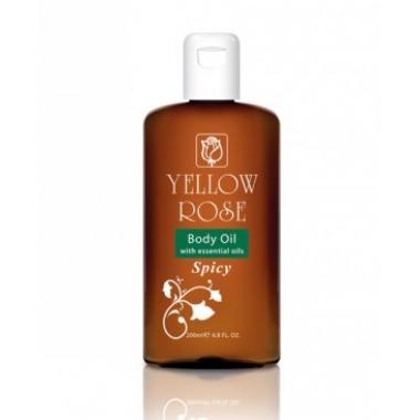YELLOW ROSE Body Oil - Spicy Масло для тела с пряностями (200 мл)