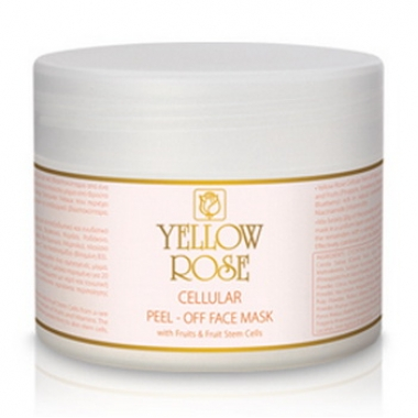 YELLOW ROSE CELLULAR PEEL-OFF FACE MASK WITH FRUITS AND FRUIT STEM CELLS Маска с фруктами (150 гр)