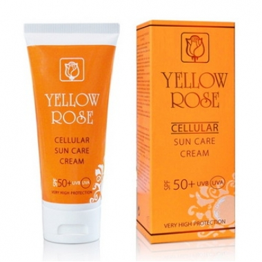 YELLOW ROSE Cellular SUN care SPF 50+ Крем солнцезащитный СПФ 50+ (50 мл)
