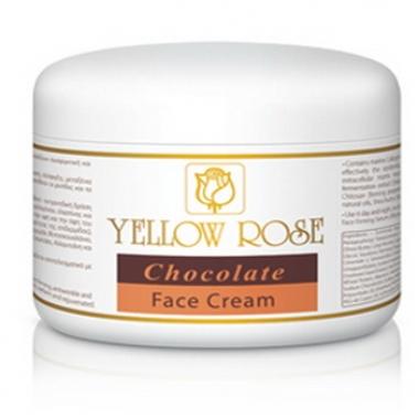 Yellow Rose CHOCOLATE FACE CREAM Крем шоколадный для лица (250 мл)