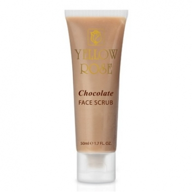YELLOW ROSE Chocolate Face Scrub Скраб шоколадный для лица (50 мл)