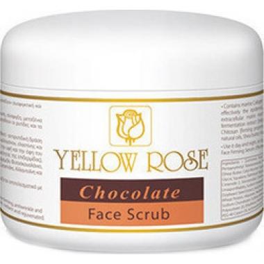 YELLOW ROSE Chocolate Face Scrub Скраб шоколадный для лица (250 мл)