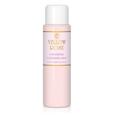 YELLOW ROSE Cleansing Milk Молочко очищающее с экстрактами цветков (500 мл)