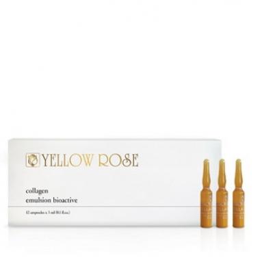 Yellow Rose COLLAGEN EMULSION BIO-ACTIVE Сыворотка биоактивная с коллагеном (12х3 мл)