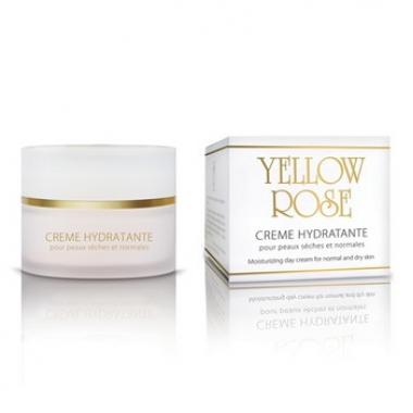 Yellow Rose CREME HYDRATANTE Крем увлажняющий для нормальной и сухой кожи (50 мл)