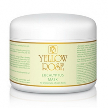 YELLOW ROSE EUCALYPTUS MASK Маска с эвкалиптом для жирной и проблемной кожи (250 мл)