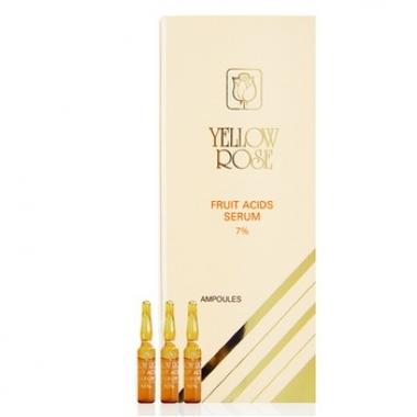 Yellow Rose Fruit Acids Serum 7% - Сыворотка с АНА (7%) 12х3 мл