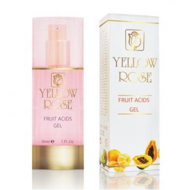 Yellow Rose Гель с АНА (10%) FRUIT ACIDS GEL (30 мл)