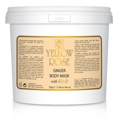 YELLOW ROSE GINGER BODY MASK Маска для тела с имбирем (1000 г)