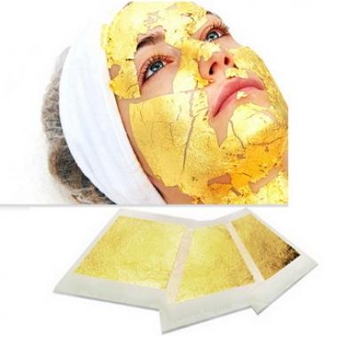 YELLOW ROSE Golden Leaf MASK Маска омолаживающая (12 шт)