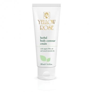 YELLOW ROSE Herbal Body Contour Cream Крем для тела с растительными экстрактами (250 мл)