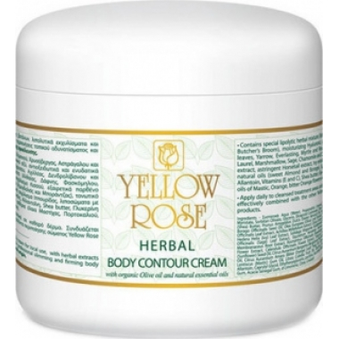 YELLOW ROSE Herbal Body Contour Cream Крем для тела с растительными экстрактами (500 мл)