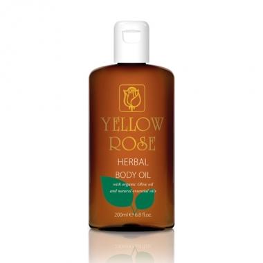 YELLOW ROSE Herbal Body Oil Масло для тела с растительными экстрактами (200 мл)