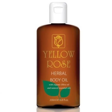 YELLOW ROSE Herbal Body Oil Масло для тела с растительными экстрактами (500 мл)