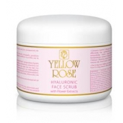 YELLOW ROSE HYALURONIC FACE SCRUB WITH FLOWER EXTRACT Скраб для лица с экстрактами цветков (250 мл)
