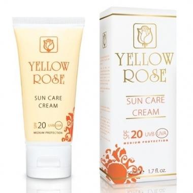 YELLOW ROSE Крем солнцезащитный СПФ 20 (50 мл)