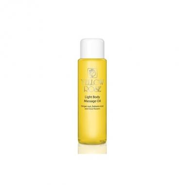 YELLOW ROSE Light Body Massage Oil Ginger root, Zedoaria root and Clove flowers Масло для тела с эфирными маслами имбиря, куркумы, гвоздики (500 мл)
