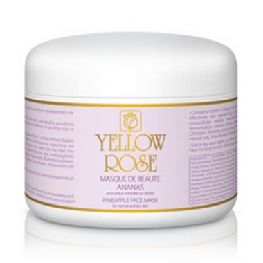 YELLOW ROSE MASQUE DE BEAUTE ANANAS Маска красоты ананасовая (250 мл)
