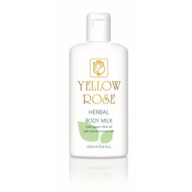 YELLOW ROSE Herbal Body Milk Молочко для тела с растительными экстрактами (200 мл)