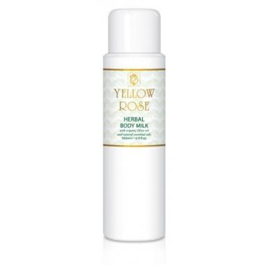 YELLOW ROSE Herbal Body Milk Молочко для тела с растительными экстрактами (500 мл)