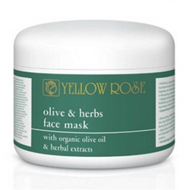 YELLOW ROSE OLIVE&HERBS FACE MASK Маска для лица с оливковым маслом и растительными экстрактами (250 мл)