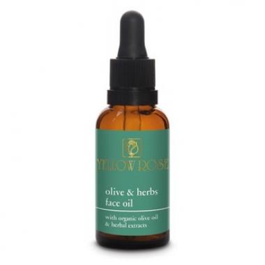 Yellow Rose OLIVE & HERBS FACE OIL Масло для лица с растительными экстрактами и оливковым маслом (30 мл)