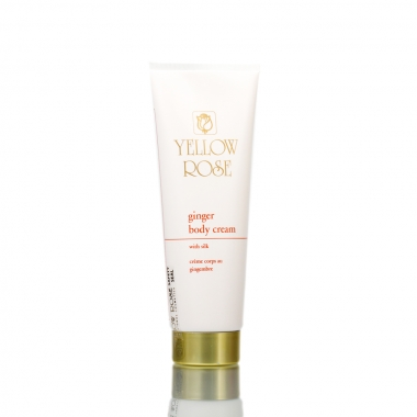 YELLOW ROSE Ginger Body Cream Крем для тела с имбирем (250 мл)