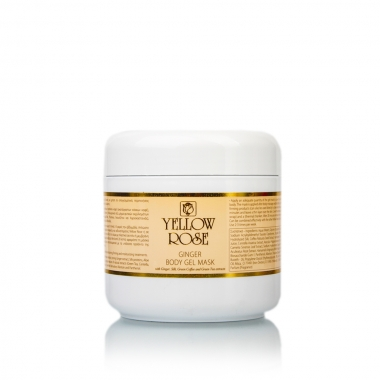 YELLOW ROSE Ginger Body Gel Mask Гель-маска для тела с имбирем (500 мл)